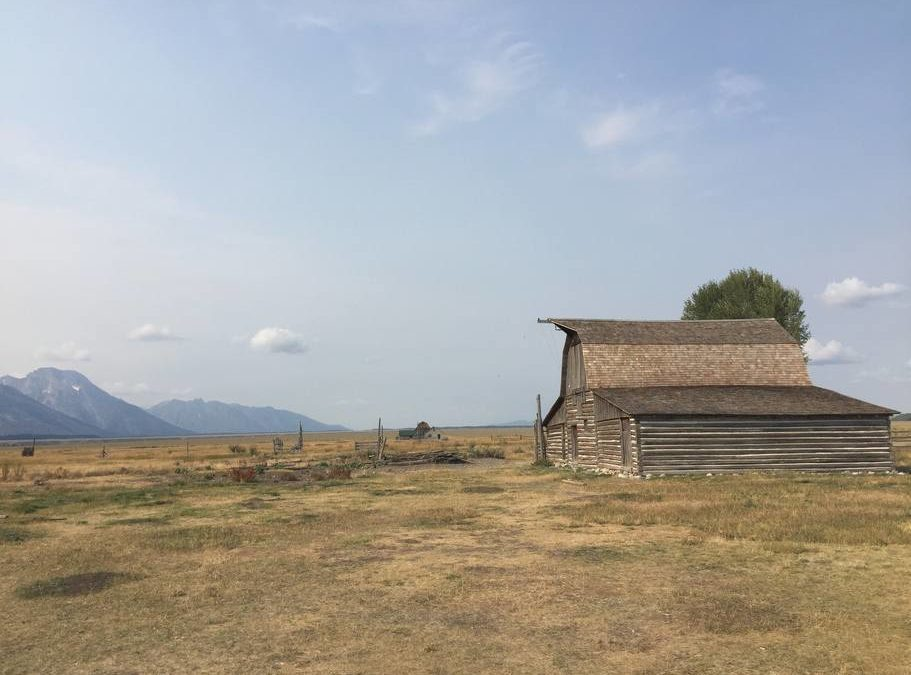 Don't forget to visit Mormon Row in scenic Teton National Park #nofilter