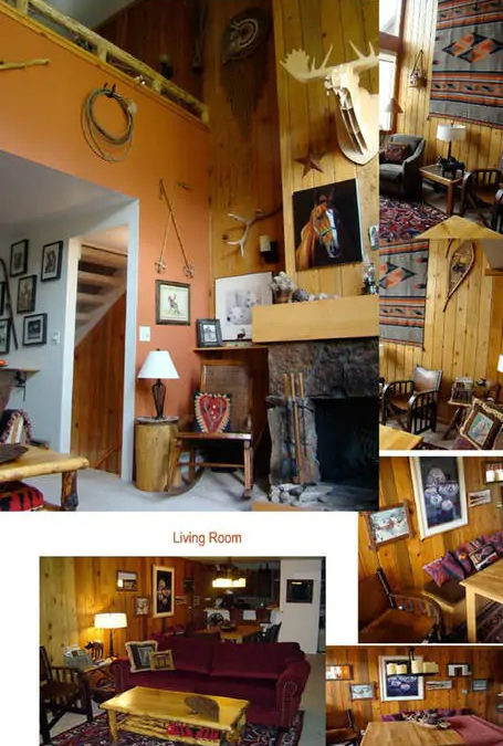 Living area montage.