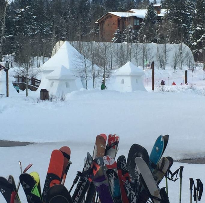 Teton Village is 4 miles away and one stop on the Start Bus.